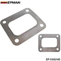 EPMAN T04E T66 T70 GT35 GT40 T4 Turbo Turbina Junta de Entrada T4 Flange Junta 4 Parafuso 304 Aço Inoxidável EP-CGQ14D