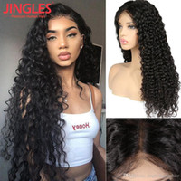 100% Unprocessed Remy human hair Brazilian Human Hair Wigs D...