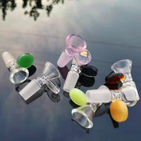 14mm 19mm Glass water pipe accessories glass pipe Smoke Acce...