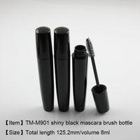 0ff1630ce1e Wholesale empty plastic mascara tube online - TM M901 shiny black mascara  bottle ml mascara tube