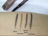 2019 maquillage de qualité supérieure, livraison gratuite nouvelle parfaite imperméable de longue durée eyeliner sourcil oeil sourcils crayon brosse maquillage