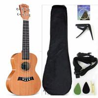 Tenor Ukulele الصلبة الأعلى الماهوجني 26 '' ukulele الملحقات مع حقيبة أزعج