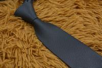Moda uomo cravatta cravatta in seta cravatta mens handmade festa di nozze lettera cravatta per cravatti ITALIA 14 Style Business Stripe Collacloth con scatola L006