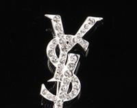2020 Multi Style Designer Lettera Spilla signora Spilla Set Set di risvolto Pin Abbigliamento Gioielli Accessori di alta qualità EPACKET SPEDIZIONE
