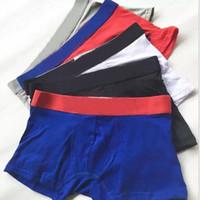 5 pçs / lote pássaro mens underwear boxers curto respirável homens homens underwear macio multicorer boxer homme moda boxershorts homens boxers cueca