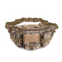 600D Oxford di nylon tattico bag Borse sportive pacchetto della vita della spalla di Molle Camping Arrampicata Escursioni Pouch Bag Camo Blet