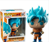 Funko POP Dragon Ball Z Super Saiyan God Super Goku Vinyl Action Figure con scatola