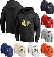 시카고 블랙 호크스 까마귀 (15) 아르 템 애니시 몹 (84) 알렉산드르 포르 틴 (12) 알렉스 DeBrincat 개인 사용자 정의 하키 Sweatershirt 유니폼
