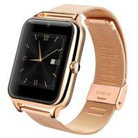 100pcs Z60 Smart Watch 1,54 pouce Couleur Écran Etape Sommeil Surveillance du sommeil Réveil Horloge de sport Bluetooth Sports Watchs pour: iPhone Samsung