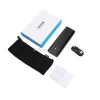 Anker PowerCore + 20100mAh Power Bank Charge rapide 5V / 6A 30W PowerIQ batterie 2.4A Powerbank Chargeur USB pour les tablettes SmartPhone