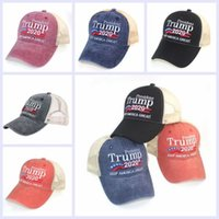 Trump 2020 Baseball Caps Designer Keep America Great Letter ...