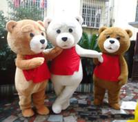 2019 chaud usine Tedy Costume adulte Fur Teddy Bear costume de mascotte