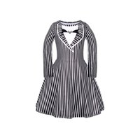 Retail 2020 kids dress striped printed princess dresses girl...