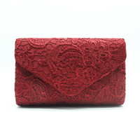 New floral lace embroidered women' s clutch bag fashion ...