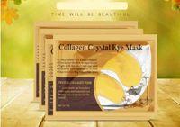 Maschera per occhi al collagene di cristallo oro anti invecchiamento / cerchi scuri / gonfiore per il viso idratante