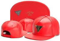 Snapback de cuero gorras de gorras Últimas reyes Caps de cuero completo Moda Oro LK LK LOG LOGO CABLE COLOR LK LK Sombreros de cuero para hombres Mujeres
