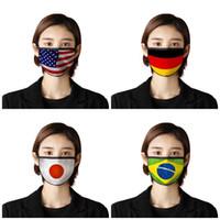 Adult-Antistaub-Beatmungsgeräte Nationalflaggen Gesicht Mund-Maske Mascherine Staubdichtes Schutzhülle US Japan Kanada 2 7BR UU9