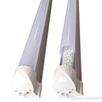 أضواء أنبوب متجمد التبانة الغلاف T8 المتكاملة، صف مزدوج، 1FT 2FT 3FT 5FT و 6ft 8FT، 3000-3500K 4000-4500K 5000-5500K يمكن أن يكون الدعم