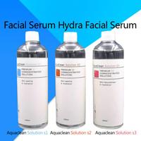 2019 utilização máquina hydrafacial profissional do aqua solução de arrancamento 400 ml por frasco de soro do aqua facial hidra soro facial para pele normal