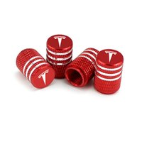Auto Car Tire Valves Tyre Air Caps for Tesla Car- Styling wit...
