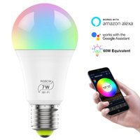 LED WiFi Smart Lights Bulb Compatible with Alexa and Google ...