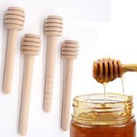 8cm10cm 커피 쥬스 섞는 교반 막대한 나무 꿀 교반기의 꿀 긴 막대 티 도구 Eco 친절한 우유는 교반 막대가 꿀 Dippers BH3231TQQ