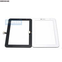 ORIWHIZ 7-дюймовый сенсорный экран дигитайзер стеклянная панель с лентой для Samsung Galaxy Tab 2 P3100 Tablet PC экраны