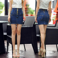 Europe and the United States summer ladies short skirt high ...