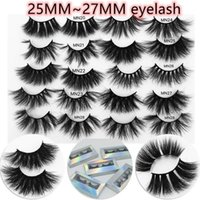 9styles 25mm Mink Eyelashes 27mm 6D Long Thick False Eyelash...
