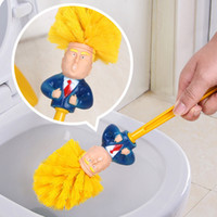 Creative Trump Toilet Bush Home Plastic Toilet Cleaning Tool...