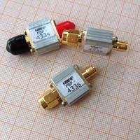 433MHz telecontrol aero pattern aerial band pass filter, 433M, bandwidth 8MHz