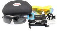 Top 2019 Femmes 3 lentilles Sports Polarized Sports Lunettes de vélo UV400, Lunettes de soleil myope coupe-vent, Végétales de protection à vélo Lunettes de lunettes