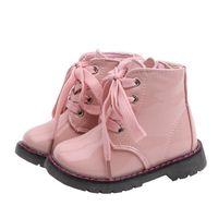 새로운 패션 키즈 신발 공주 여자 마틴 부츠 아이 디자이너 신발 소녀 신발 아기 부츠 유아 신발 어린 소녀 구두 소매 A7877
