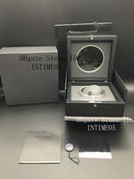 İyi Kalite İzle Kutusu Tam Siyah Saatler Kutuları Şeffaf Orjinal İzle Vaka HUB İzle Box Nokta Kaynağı orologio di lusso için