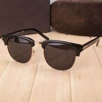 Nova moda feminina marca designer óculos de sol óculos de armação quadrada moda show de design estilo verão com caixa original