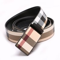 2018 NEW Men High Quality Luxury Mens Belts Automatic Buckle...
