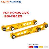 Ett par bakre nedre kontrollarms underramstödsplattor ASR-kit för Honda för Honda Civic 88-95, t.ex. ARM JDM LCA