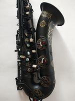 Müzik aleti Suzuki Profesyonel Yeni Japon Tenor Saksafon bemol Woodwide enstrüman Siyah Nikel Altın Sax Hediye ağızlığı