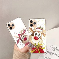 Christimas gift santa claus Elk soft silicon TPU phone case ...