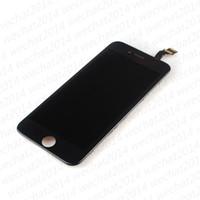استبدال قطع غيار 50PCS 100٪ اختبارها LCD شاشة عرض تعمل باللمس الجمعية محول الأرقام آيفون 6 6G مجانا DHL