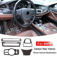 الغلاف الأمامي ضوء القراءة الداخلية من ألياف الكربون لسيارات BMW 5 سلسلة GT F10 F07 E60 E83 X3 6 سلسلة الاكسسوارات E63 E53 X5