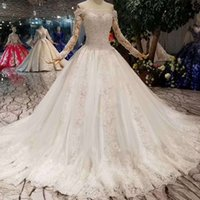 Sexy Corset Wedding Gowns New Fashion Design Off Shoulder Bo...