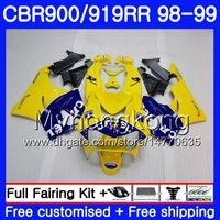 Karosserie für HONDA CBR 900RR CBR 919RR CBR900 RR CBR919RR CAMEL blau Lager 98 99 278HM.10 CBR900RR CBR 919 RR CBR919 RR 1998 1999 Verkleidungskit