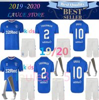 2019 2020 kids Rangers FC Home Blue Soccer Jersey 19 20 chil...