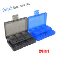 닌텐도 스위치 게임 메모리 카드 홀더 커버 케이스에 대한 24in1 게임 카드 보관 케이스 상자 홀더 쉘