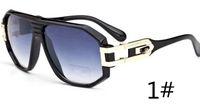 여름 남자 선글라스 최신 유명 디자이너 HOT 패션 남자 선글라스 여자 빈티지 명확한 검정 렌즈 특대 10PCS Gafas De Sol