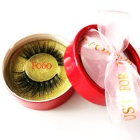 100% Visón Pestañas Wispy Fluffy Fake Lashes 3D Maquillaje Gran Volumen Crisscross Reutilizable Pestañas Falsas Belleza Herramienta de Moda 22