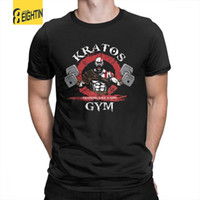 God Of War Kratos Gym Man T Shirt stile semplice cotone purificato manica corta t-shirt t-shirt colletto tondo stampa top