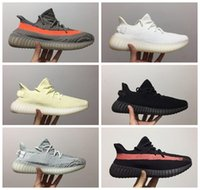 Adidas 2019 V2 Kanye West True Hyperspace Clay Static Running Zapatillas Hombre Mujer Crema Amarillo Verde Blanco Beluga 2.0 Sport Sneakers 36-45