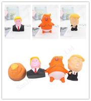 Дональд Трамп Стресса Squeeze Бал Jumbo Squishy игрушка новизна Предохранительного Чайлдс кукла PU Squeeze Fun Шутка Реквизит подарки для детей игрушек D11402